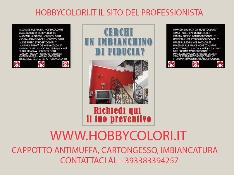 Imbiancatura milano hobbycolori for Muri interni decorati